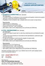 jobstock miri chiu hua enterprise sdn bhd jobs forum in qs building more than 1 yr exp 2 civil engineering miri degree diploma in civil engineering more than 1 yr exp email resume to
