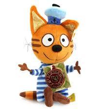 Купить мягкая <b>игрушка Мульти-Пульти 3 кота</b>, коржик 18 см ...