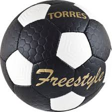 <b>Мяч</b> футбольный <b>Torres Freestyle</b> р.5 F30135 черн/бронз: купить в ...