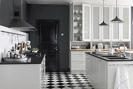 ultra practical bistro style kitchen hungry bistro  modern bistro kitchen black and white tile floor
