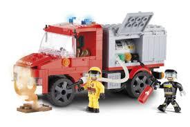 <b>Конструктор COBI Пожарная</b> машина COBI-1468