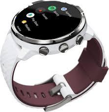 Спортивные часы <b>Suunto 7</b>, цвет <b>белый</b>, бордовый — купить в ...
