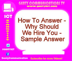 how to answer why should we hire you sample answer how to answer why should we hire you sample answer