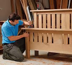 woodworking bed plans building bedroom furniture