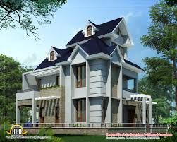 Unique home design   Sq  Ft    Kerala home design and floor plansUnique home design   Sq  Ft    Sq  M