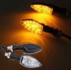 CCAUTOVIE <b>Universal</b> Indicator Motorbike Led <b>Turn Signal Lights</b> ...