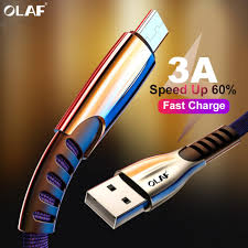 <b>OLAF 3A Micro USB</b> Cable for Xiaomi 2 Redmi Mobile Phone USB ...