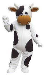 Langteng Cow Mascot Costume Cartoon Character ... - Amazon.com