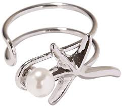 Открытое <b>кольцо</b> ''<b>Морская звезда</b>'' Exclaim 039S2955R с ...