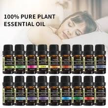 <b>10ml</b> 18 Flavours Essential Oils <b>Pure Plant</b> Relieve Stress Air ...