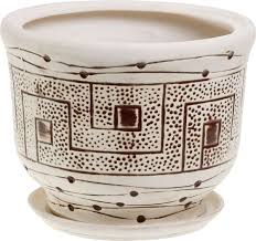 "<b>Кашпо</b> Керамика ручной работы ""Греция"", цвет: <b>шамот</b>, 8 л ..."