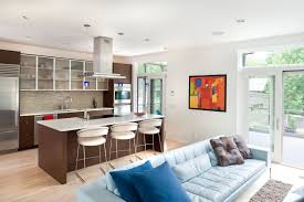 Small Kitchen Living Room 10 Amazing Ideas To Design Kitchen Combined With Living Room