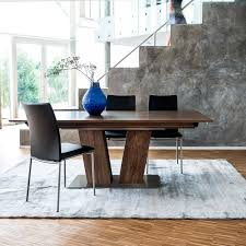 wood extendable dining table walnut modern tables:  images about modern extension dining tables on pinterest mesas bari and extension dining table