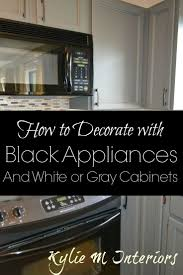 black appliance matte seamless kitchen: good ideas and points for our new kitchen with black stainless steel black appliances decorating ideas in a kitchen with gray or white cabinets