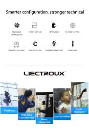 <b>Liectroux</b> X6 <b>Robot Window Vacuum</b> Cleaner , Anti falling,Remote ...