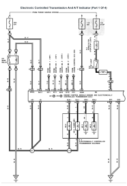 lexus v8 1uzfe wiring diagrams for lexus ls400 1993 model 1uzfe electronic controlled transmission and a t indicator part 1 of 4 page