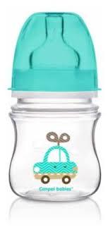 Canpol Babies <b>Бутылочка</b> антиколиковая с <b>широким горлом</b> 120 ...