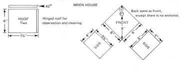 Bird House PlansFrom the OH DNR