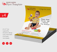 flyer templates psd eps format marvelous kindergarten school flyer