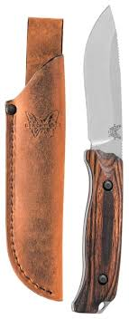 Купить <b>Нож Benchmade Saddle Mountain</b> Skinner с чехлом ...