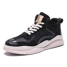 <b>IZZUMI</b> Autumn <b>Men Mid</b>-<b>top Shoes</b> Casual <b>Shoes</b> Black EU 43 ...