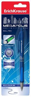 <b>ErichKrause Ручка шариковая</b> автоматическая Megapolis Concept ...