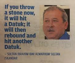 Image result for too many datuks