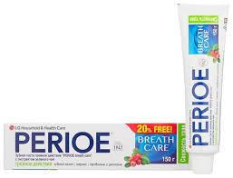 Купить <b>Зубная паста Perioe Breath</b> Care Тройное действие ...
