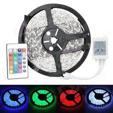 72W <b>Waterproof LED Strip</b> Light RGB 4500lm SMD 5050 (EU Plug ...