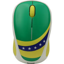 <b>Мышь Logitech</b> Fan Collection <b>M238</b> Brasil (910-005398) Green ...