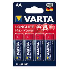 <b>Батарейка Varta Max Tech</b> LR6 АА 4 шт