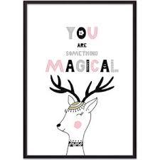 <b>Постер в рамке Дом</b> Корлеоне Олень Magical 50x70 см | www.gt ...