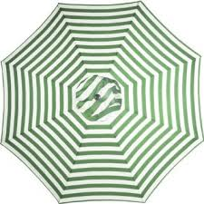 white striped patio umbrella: green and white striped  foot outdoor round steel patio