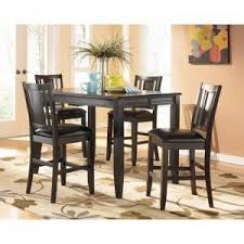 dining room pub style sets: pub style kitchen dinette decor with counter height dining table