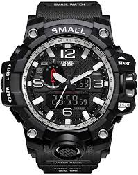 <b>Mens Sport Watches</b>, Waterproof <b>Fashion</b> Men Wristwatch Led ...