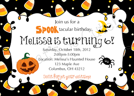 halloween birthday party invitation templates ctsfashion com best photos of printable halloween invitations templates scary