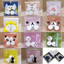 7x7 10x10cm <b>50Pcs</b> Plastic Bags <b>Cute</b> Cartoon Gifts Bags for ...