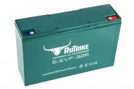 <b>Тяговый гелевый аккумулятор RuTrike</b> 6-EVF-32 — купить ...