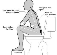 constipation remedies  best positions and irritable bowel syndrome    ever wonder what is the proper way to poop  well here is a diagram to