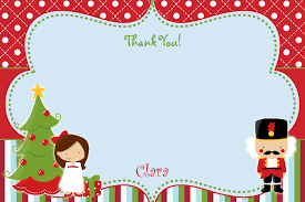 christmas thank you notes thank you letter  thank you note you 10 personalised