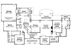Classic House Plans   Laurelwood     Associated DesignsClassic House Plan   Laurelwood     st Floor Plan