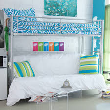 bedroom awesome cool bunk beds for teens loft bed wonderful with silver iron be equipped blue bunk bed deluxe 10th
