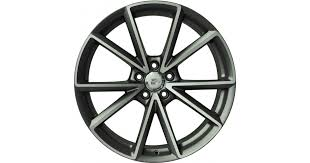 <b>WSP Italy W569</b> Aiace Anthracite Polished Alloy Wheels | Audi Wheels