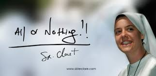 """Release of the Film """"All or Nothing: <b>Sr</b>. Clare <b>Crockett</b>"""" - <b>Sister</b> Clare ..."""