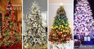 50 Of the Most Inspiring Christmas <b>Tree Designs</b> - The Trending ...