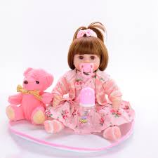 <b>Cute Soft Vinyl Reborn</b> Doll Babies Realistic Princess Girl Doll Baby ...