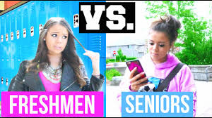 freshman year vs senior year krazyrayray