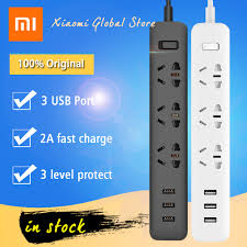 Buy <b>Original Xiaomi</b> Mi Smart <b>Power</b> Socket Portable Strip Plug ...