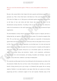 race essays  oglasico academic assignment essay racial discrimination www topgradepaper