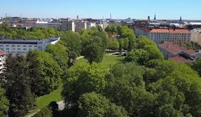 Leaves grow green all summer in Helsinki, before <b>burst</b> of <b>autumn</b> ...